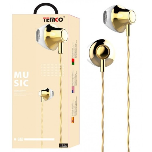 Auriculares S12 Stereo Headset