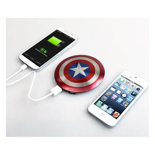 POWER BANK CAPITÁN AMÉRICA 6800
