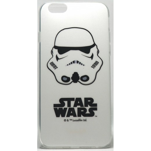 Carcasa Star Wars Soldado Imperial Blanca Iphone 6/6s