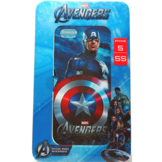 Carcasa Capitan America Apple Iphone 5/5s